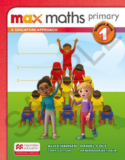 MAX MATHS PRIMARY - A SINGAPORE APPROACH - STUDENTS BOOK-1
