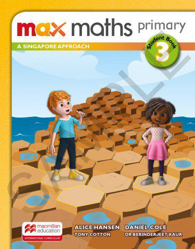 MAX MATHS PRIMARY - A SINGAPORE APPROACH - STUDENTS BOOK-3