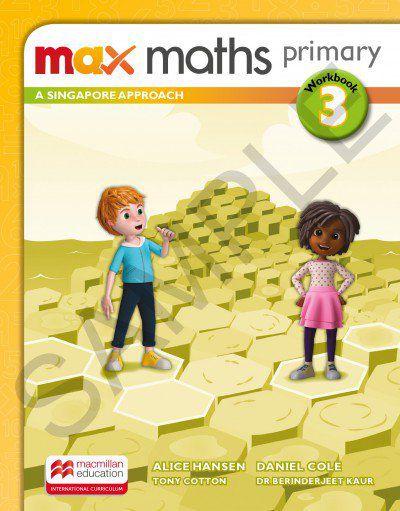 MAX MATHS PRIMARY - A SINGAPORE APPROACH - WORKBOOK-3