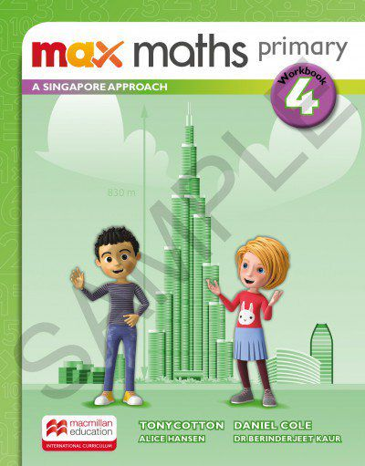 MAX MATHS PRIMARY - A SINGAPORE APPROACH - WORKBOOK-4