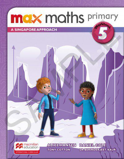 MAX MATHS PRIMARY - A SINGAPORE APPROACH - WORKBOOK-5