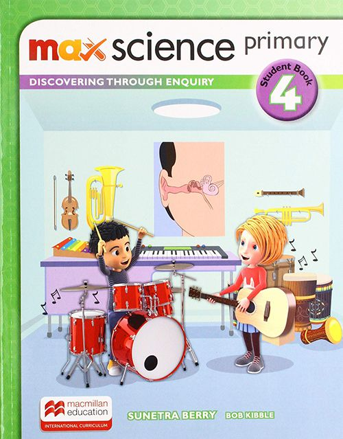 MAX SCIENCE STUDENTS BOOK WITH DSB-4