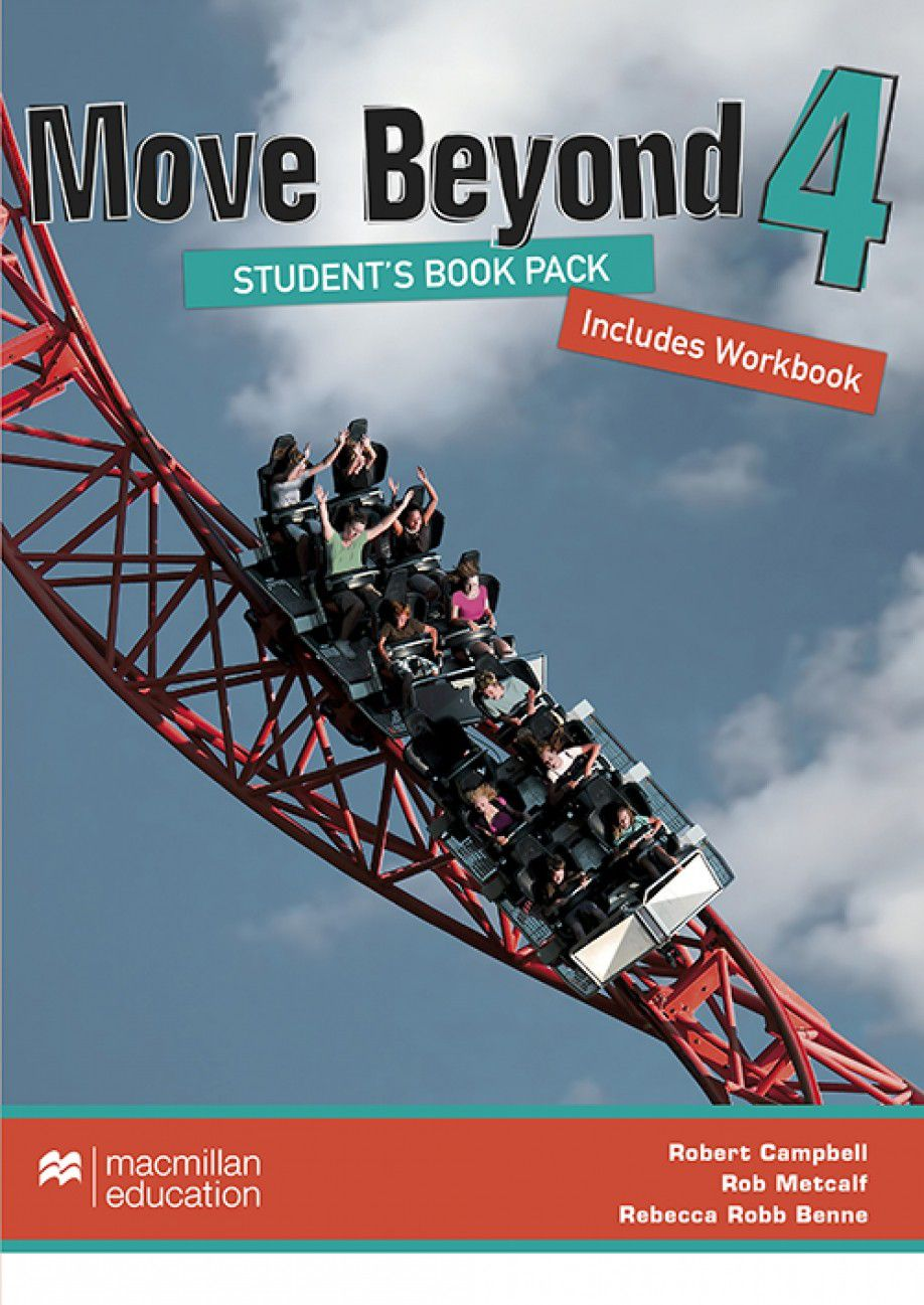MOVE BEYOND STUDENTS BOOK&WORKBOOK W/DVD-4