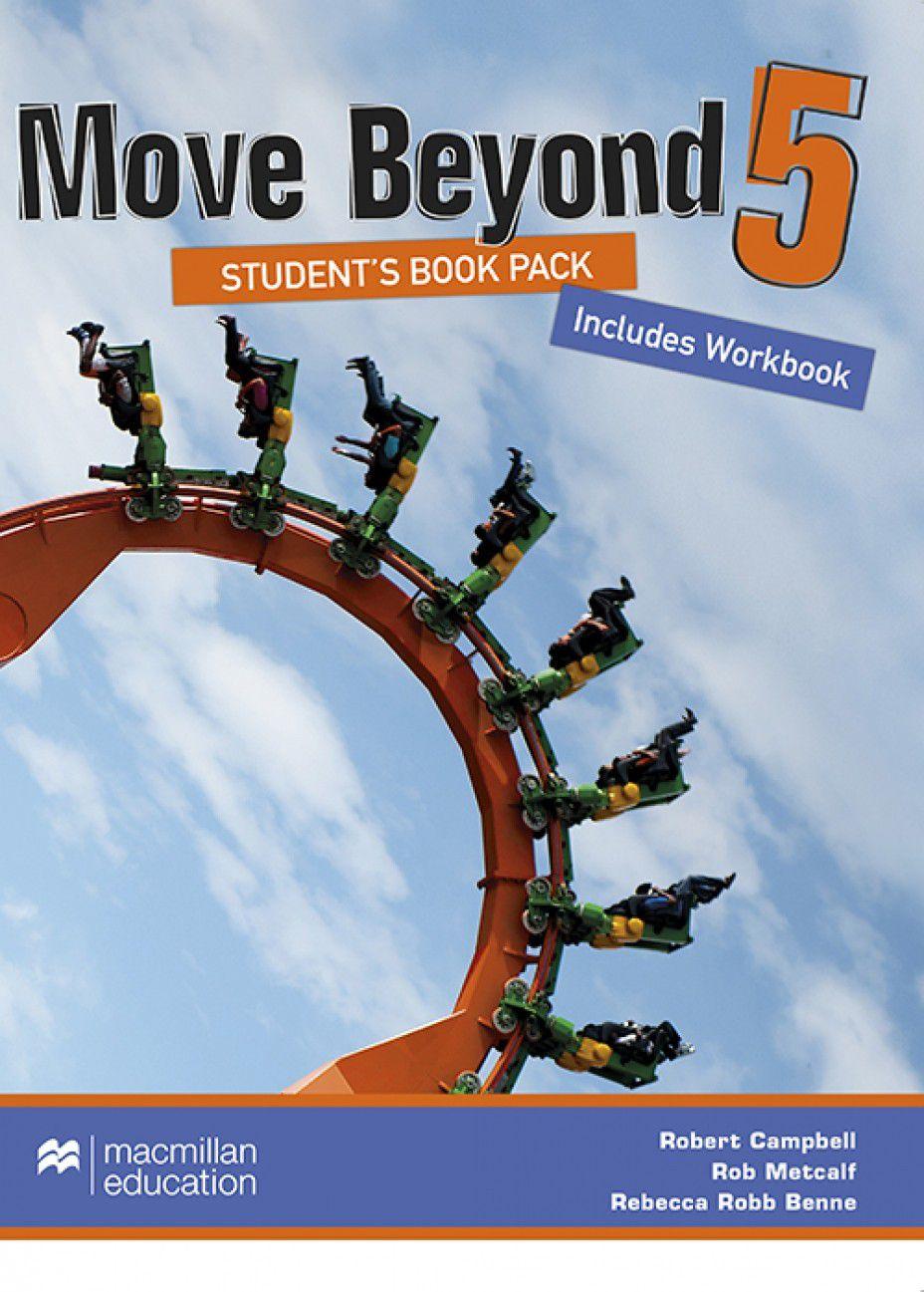 MOVE BEYOND STUDENTS BOOK&WORKBOOK W/DVD-5