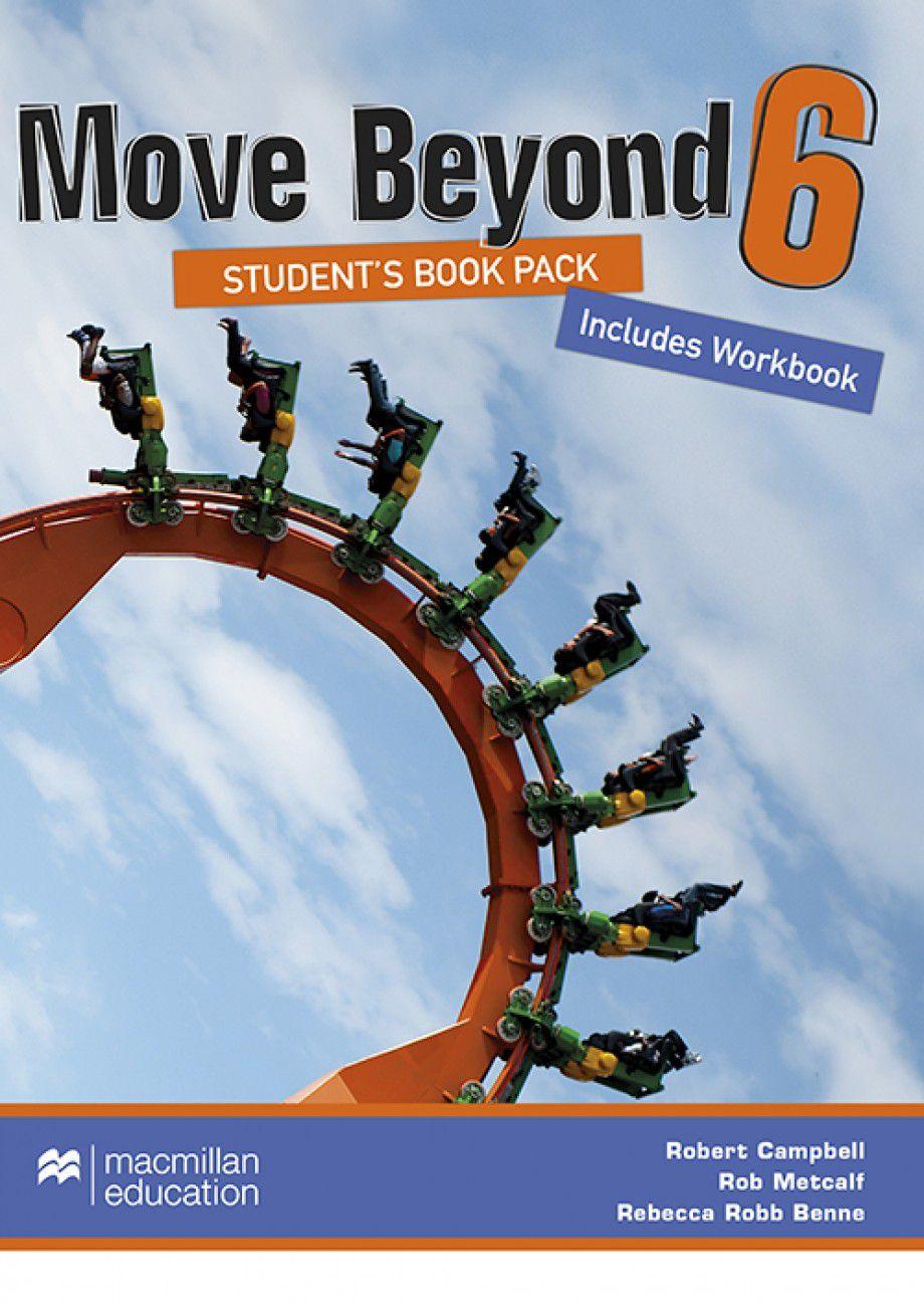 MOVE BEYOND STUDENTS BOOK&WORKBOOK W/DVD-6