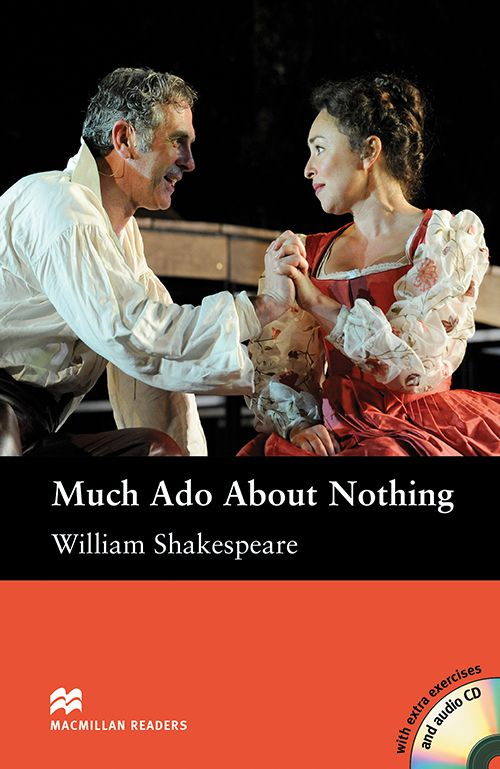 MUCH ADO ABOUT NOTHING AUDIO CD INCLUDED