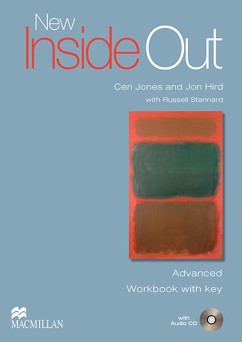 NEW INSIDE OUT ADVANCED WB WITH KEY + AUDIO CD - 2