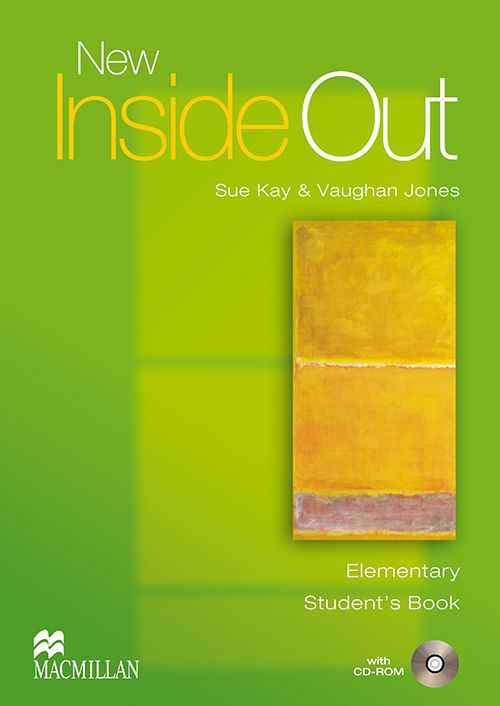 NEW INSIDE OUT STUDENTS BOOK WITH CD-ROM  ELEMENTY