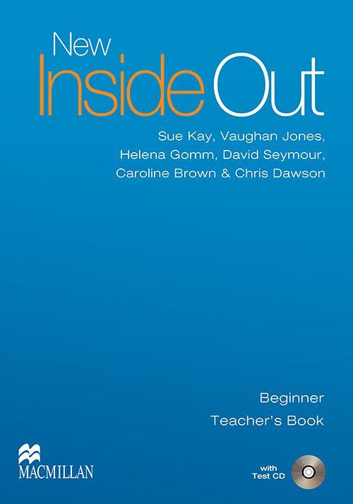NEW INSIDE OUT TEACHERS BOOK  WITH TEST CD   BEGIR