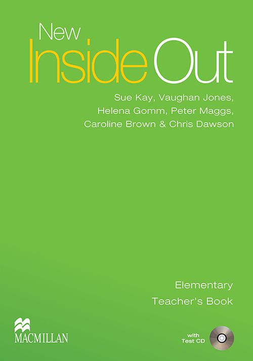 NEW INSIDE OUT TEACHERS BOOK  WITH TEST CD   ELEMY