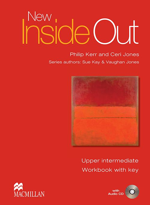 NEW INSIDE OUT UPPER INTERMEDIATE WORKBOOK WITH KD
