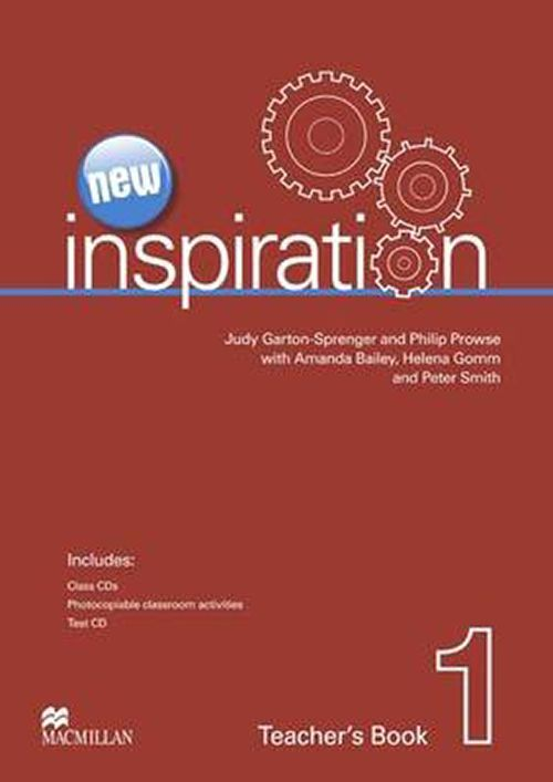 NEW INSPIRATION 1 - TEACHERS BOOK WITH TEST CD AND