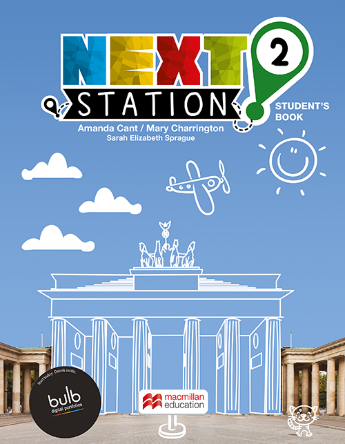 NEXT STATION STUDENTS BOOK WITH WORKBOOK & CLIL WITH BULB - 2