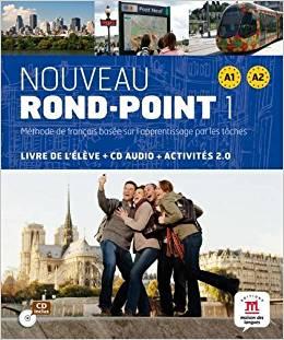 NOUVEAU ROND-POINT 1 (A1+A2) - LIVRE + CD