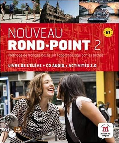 NOUVEAU ROND-POINT 2 - LIVRE DE LELEVE + CD AUDIO