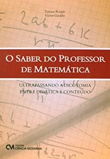 O Saber Do Professor De Matemática