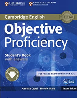 Objective Proficiency Students Book With Answers W