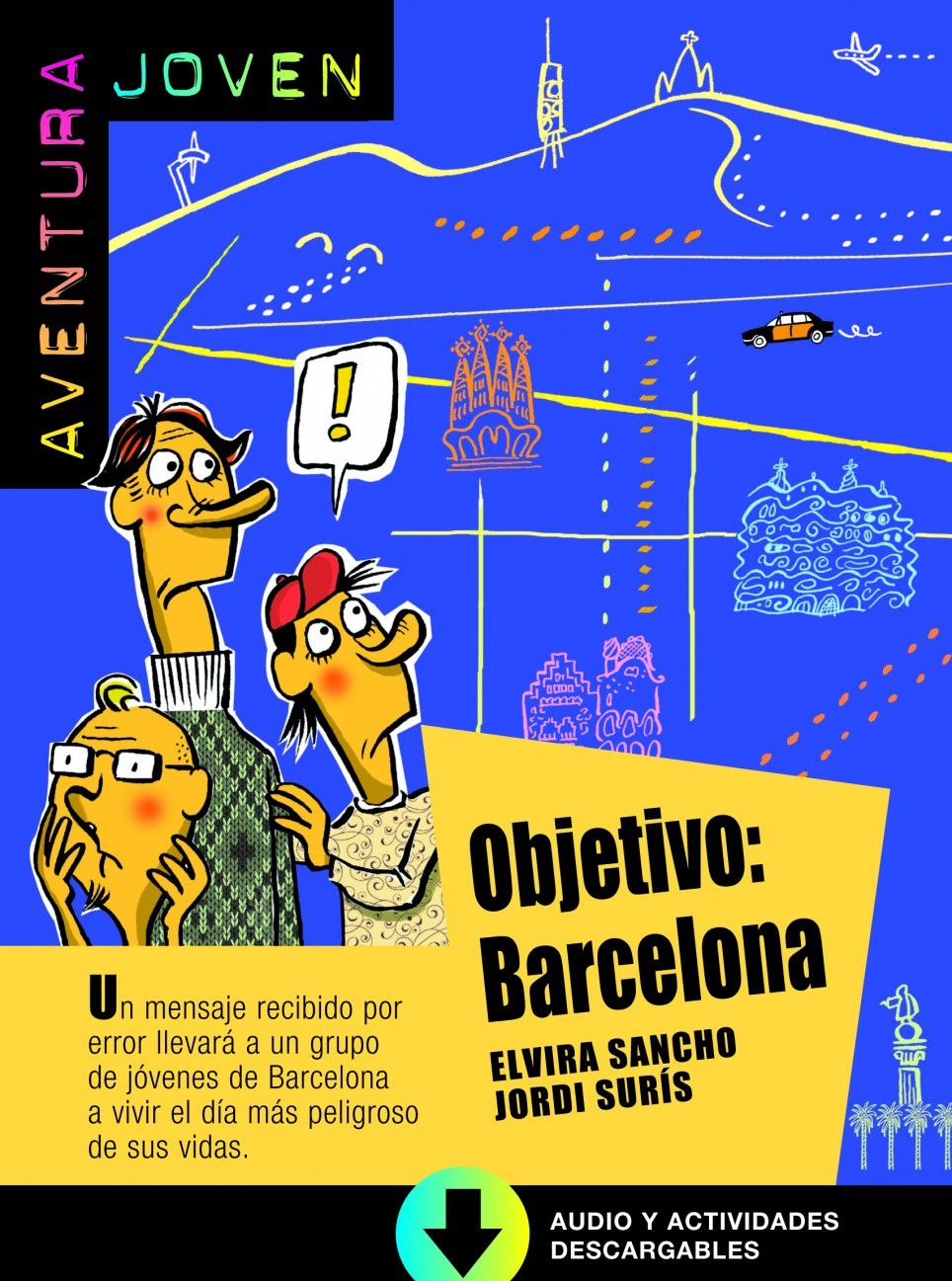 OBJETIVO: BARCELONA - LIBRO + CD AUDIO