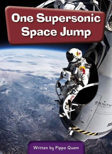 ONE SUPERSONIC SPACE JUMP