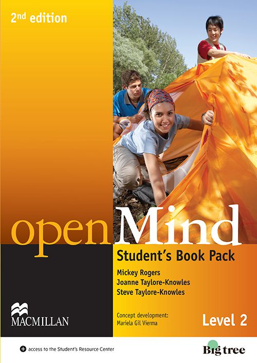 OPEN MIND 2 SB WITH WB PACK - 2ND ED
