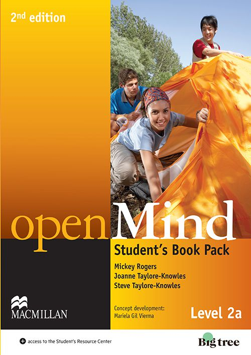 OPEN MIND 2ND EDIT.STUDENTS BOOK WITH WEBCODE  D01