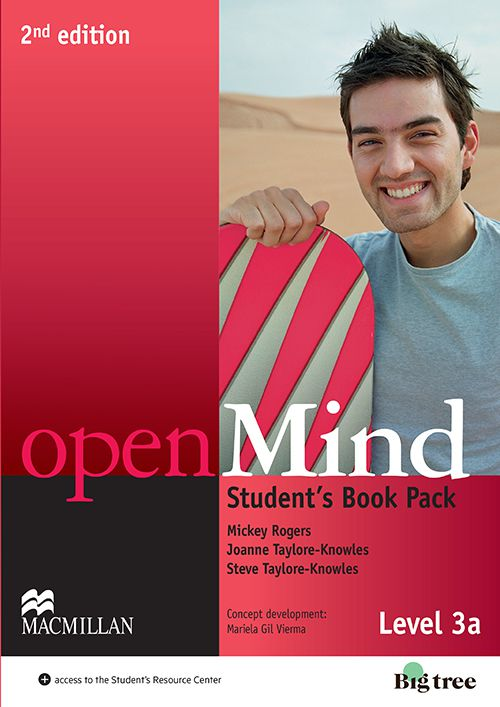 OPEN MIND 3A SB WITH WB PACK - 2ND ED