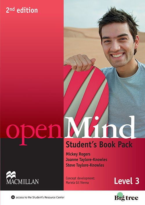 OPENMIND 2ND EDIT. STUDENTS PACK WITH WORKBOOK-3