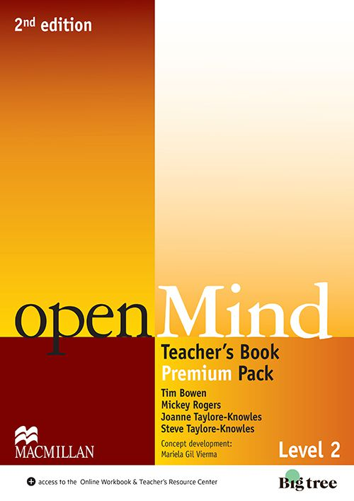 OPENMIND 2ND EDIT.TEACHERS BOOK PREMIUM PACK-2