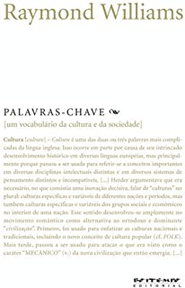Palavras-Chave: Um Vocabulario De Cultura E Socied