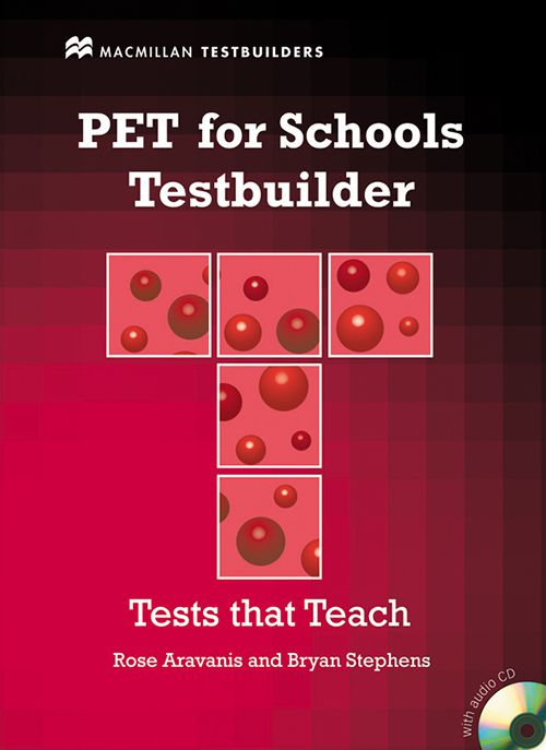 PET FOR SCHOOLS TESTBUILDER WITH CDROM