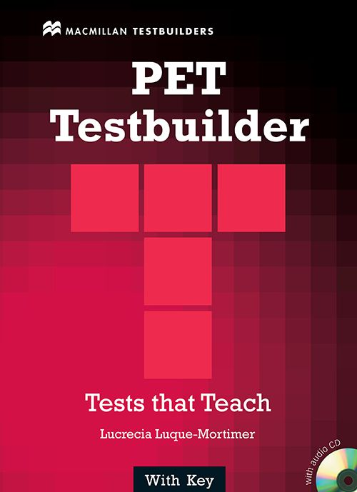 PET TESTBUILDER WITH ANSWER KEY  WITH CD