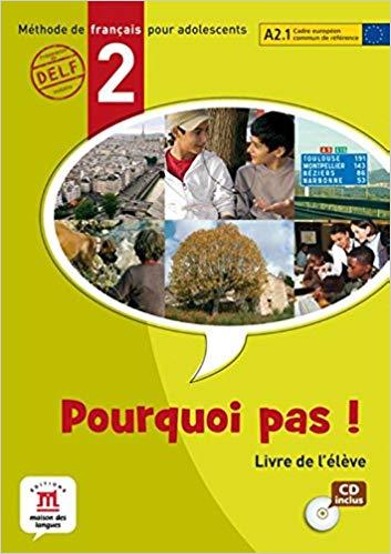 POURQUOI PAS! 2 - LIVRE DE LELEVE AVEC CD AUDIO