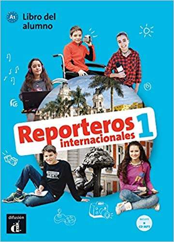REPORTEROS INTERNACIONALES LIBRO DEL ALUMNO CON MP3-1