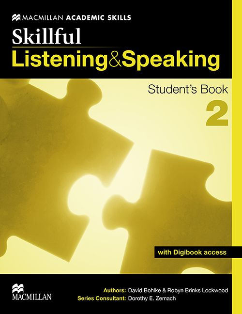 SKILLFUL LISTENING AND SPEAKING 2 STUDENTS BOOK