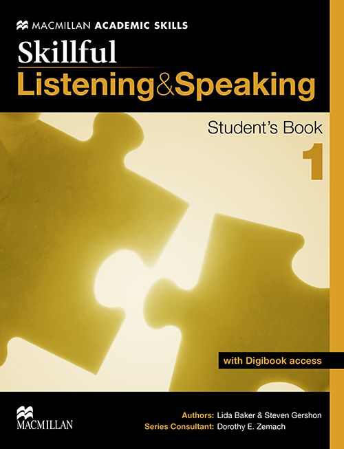 SKILLFUL LISTENING  SPEAKING 1 - SB WITH DIGITAL S