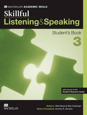 SKILLFUL LISTENING & SPEAKING STUDENTS BOOK W/e-BOOK-3