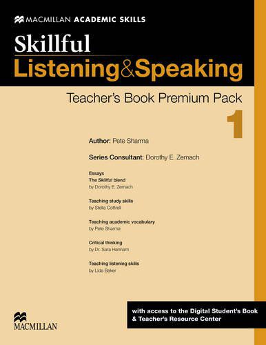 SKILLFUL LISTENING & SPEAKING TEACHERS BOOK PREM01