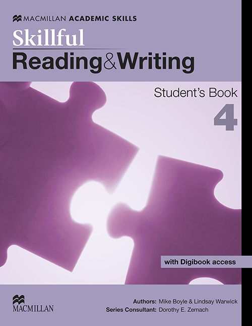 SKILLFUL READING & WRITING STUDENTS BOOK W/DIGIBOOK-4