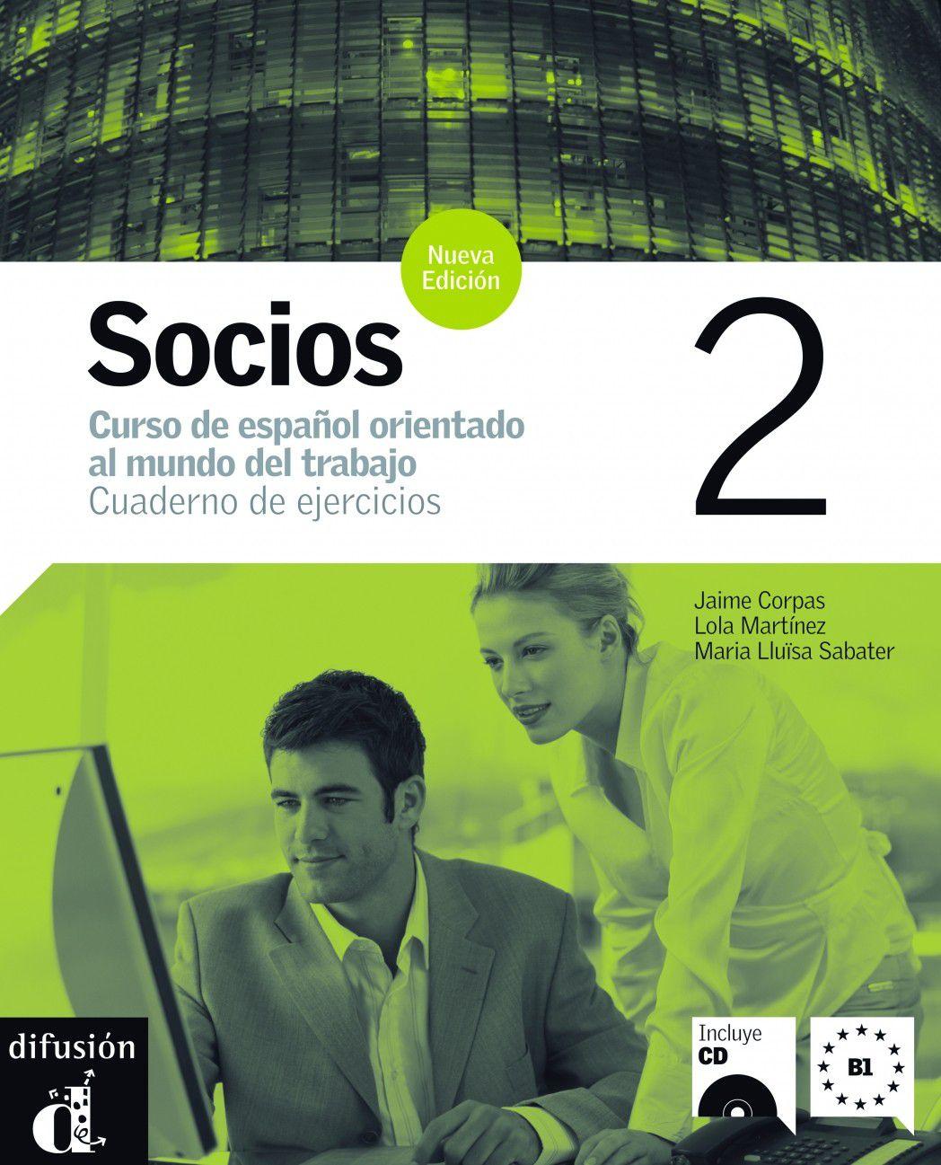 SOCIOS 2 - CUADERNO DE EJERCICIOS CON CD AUDIO