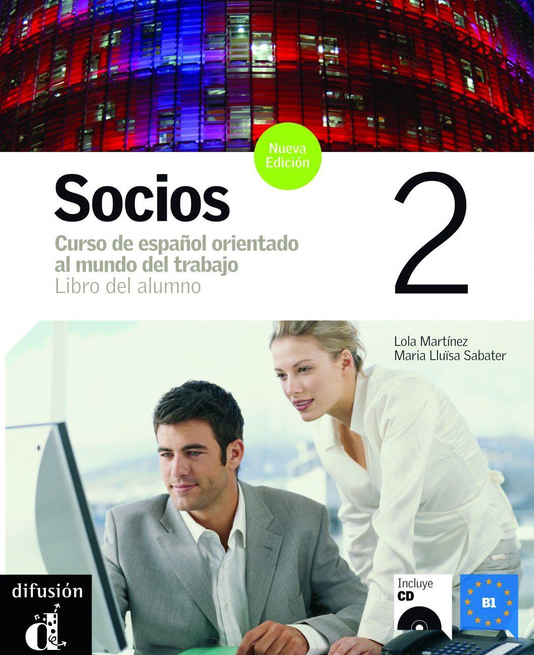 SOCIOS 2 NUEVA EDITION - LIBRO DEL ALUMNO + CD