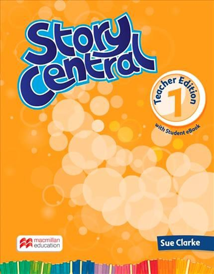 STORY CENTRAL TEACHERS BOOK WITH EBOOK PACK-1