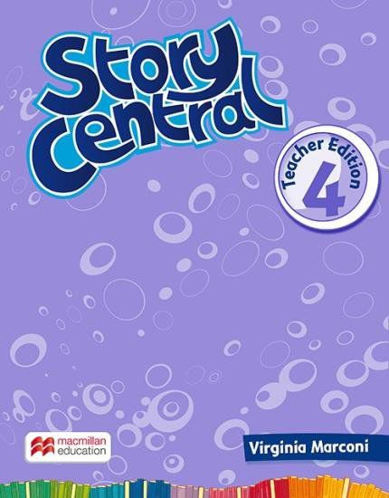 STORY CENTRAL TEACHERS BOOK WITH eBOOK PACK-4