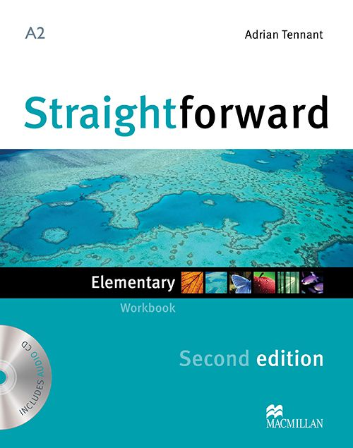 STRAIGHTFORWARD ELEMENTARY WORKBOOK WITH AUDIO CDN