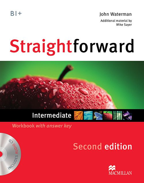 STRAIGHTFORWARD INTERMEDIATE WORKBOOK WITH CD WITD
