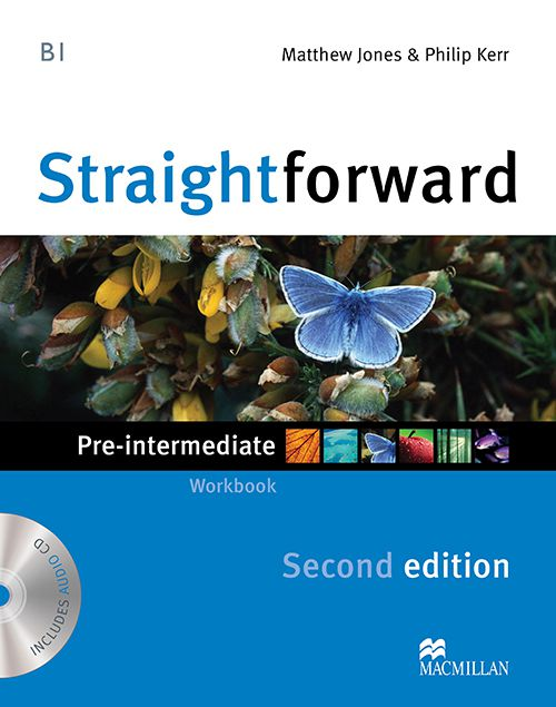 STRAIGHTFORWARD PRE INTERMEDIATE WORKBOOK WITH A01