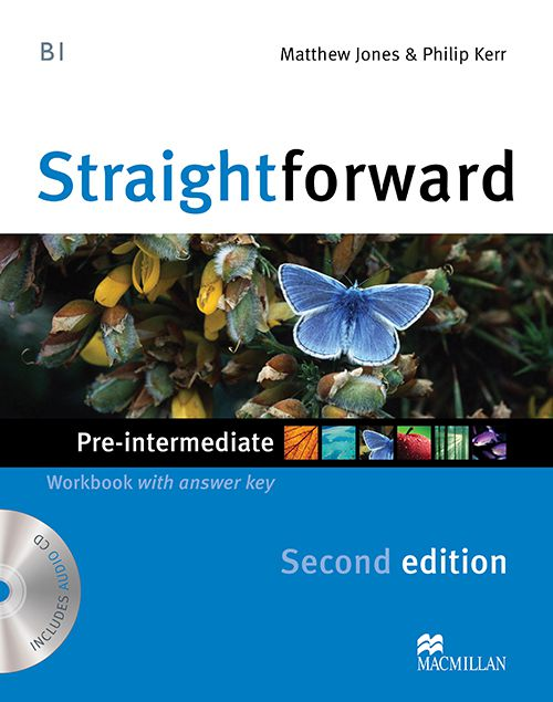 STRAIGHTFORWARD PRE INTERMEDIATE WORKBOOK WITH AUD