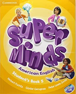 Super Minds American English 5 Sb With Dvd-Rom