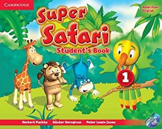 Super Safari 1 American English Sb With Dvd-Rom