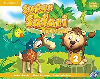 Super Safari 2 Pupils Book With Dvd-Rom