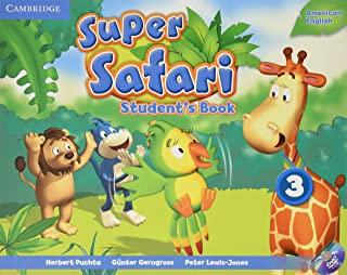 Super Safari 3 American English Sb With Dvd-Rom